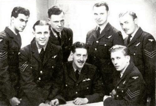 Basil Anderson and his crewmates.
