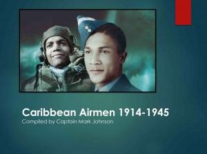 Caribbean Airmen 1914-1945