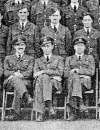 Harold Lindo 103 Squadron front row middle