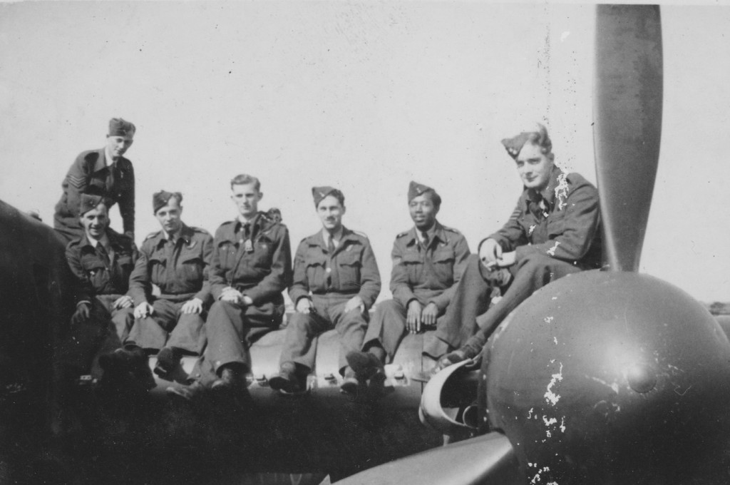103 Squadron Lee crew with Bruce Miller