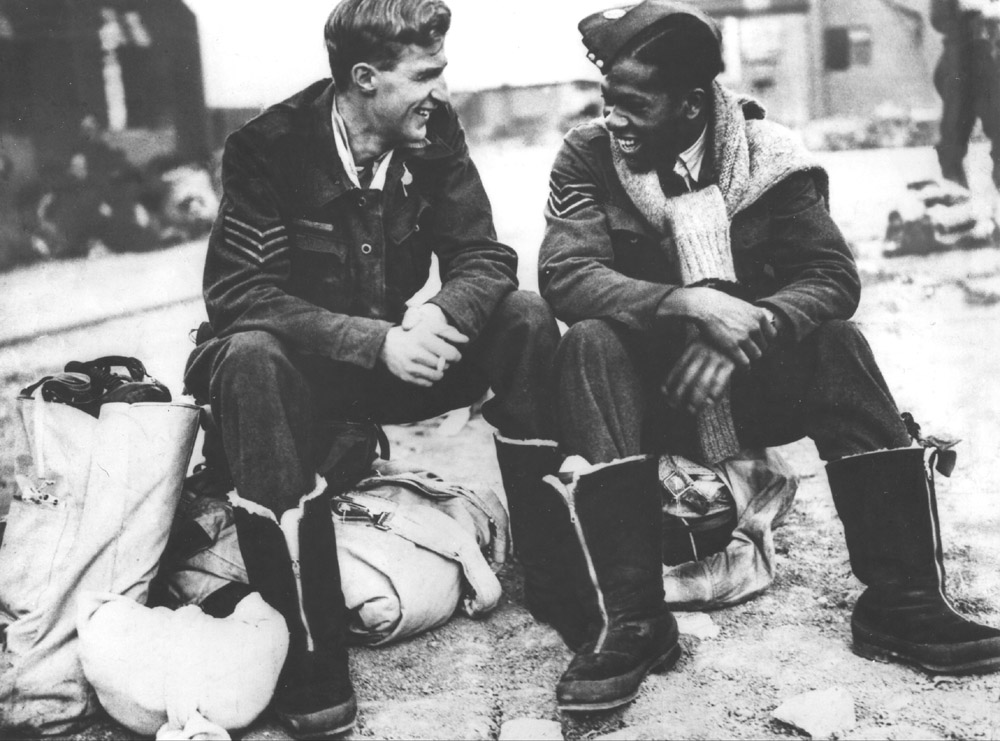 Caribbean Aircrew In The Raf During Ww2 187 Trinidad