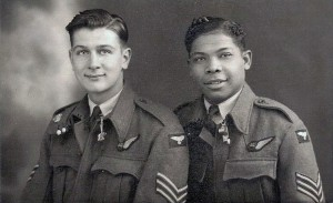 Herbert Thomas and Chris Hogg - air gunners