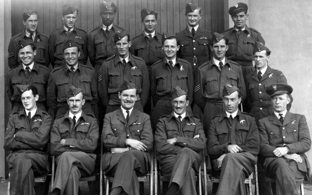 Sgt Hyde 25 Course 58 OTU Grangemouth, Scotland August 1942